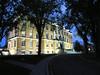 Ottawa, Ontario, Canada (duaneschermerhorn) Tags: night trees lights spotlights building architecture architect windows