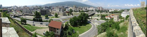 Panorama from Skopje Fortress
