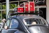 Red Suitcases on the Roof of a Vintage VW (ShebleyCL) Tags: 2018 everett car travel luggage vaction crusincolby vehicle vw volkswagon