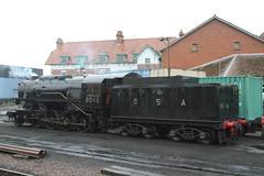6046 MINEHEAD 310518 (DavidsTransportPix) Tags: 6046 tenderengine steamlocomotive steamengine usarmycorps westsomersetrailway