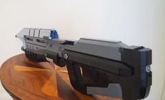 MA5C - Rear 3/4 ({Jim.Kromastus}) Tags: lego halo ma5c rifle