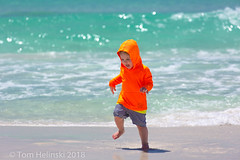 Running and playing in the surf at Miramar Beach (tomh2m) Tags: beach young nature people sea water boy outdoor fun happiness sand child ocean vacation male landscape beautiful childrenplaying childhood littleboyplaying