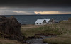 A stormy weather. (olafur gudmundsson) Tags: iceland roads country farms cloud sea