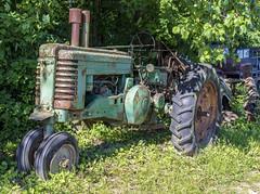 Tractor (will139) Tags: tractor ruraldecay rust ruralindiana rusty