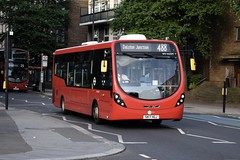 Tower Transit Wright StreetLite DF (WV44209 - SK17 HGJ) 488 (London Bus Breh) Tags: transitsystems towertransit thewrightgroup wrightgroup wrightbus wright wrightstreetlite wrightstreetlitedf streetlite streetlitedf doorforward wv wv44209 sk17hgj 17reg london buses londonbuses bus londonbusesroute488 route488 bow bowchurch bowroad tfl transportforlondon