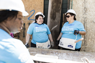2018 Lowe's National Women Build Week Build Day