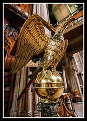 Eagle Lectern (veggiesosage) Tags: church stmaryschurch nottingham aficionados gx20