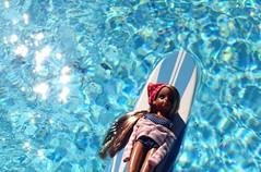 Beach girl (maryPOP(!)) Tags: 16scale miniature fashiondoll neolicca liccadoll vintagebeach longboard surf beachgirl licca explore