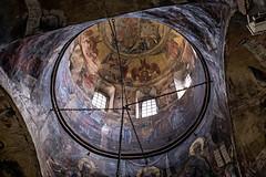 Nevena Uzurov - Krušedol monastery (Nevena Uzurov) Tags: krušedol srem serbia fruškagora monastery ortodox frescoes wallpaintings cupola interior art ceiling