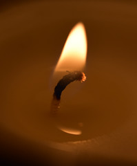 Candle Flame (Burnt Pineapple Productions) Tags: fire flame candle night warm orange yellow red hell fiery blazing
