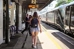 Didcot (BarkingBill) Tags: railway railroad train didcot 800029 800031