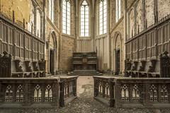DSC_0841-HDR (Foto-Runner) Tags: urbex lost decay abandonné église church blue christ