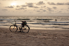 Down by the Sea, The Gambia (Geraint Rowland Photography) Tags: bike riding rider bicycle cycle cycling cyclinginafrica thegambia westafrica beaches ocean africanscenes nature landscape adventure bikeride biketrip geraintrowlandphotography wwwgeraintrowlandcouk zsolt schuller zsoltschuller thegreattour