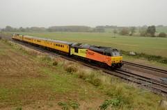 67027 67023 bb Harrowden Jct 111017 D Wetherall (MrDeltic15) Tags: colas class67 67027 networkrail mentor testtrain 67023 harrowdenjunction midlandmainline