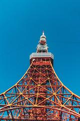 _MG_6675 (waychen_c) Tags: japan tokyo minatoku tokyotower tower architecture building cityscape sky blue red 日本 東京 港区 芝公園 東京タワー 東京鐵塔 2017東京旅行