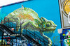 Chameleon (Shawn Phelps) Tags: chameleon graffiti mural art building wall houston tx texas ronen anatronen