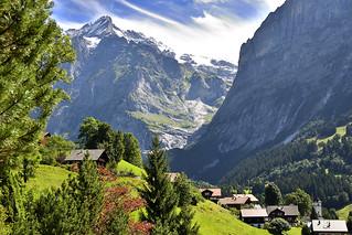 Grindelwald. Paisaje de montaña