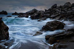 Current Issue (James Duckworth) Tags: jamesduckworthphotography pacificocean clouds coast coastal current fineartphotography landscape moody nobody rocks seas seascape treacherous undertow water wave waves