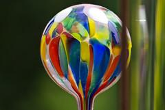 Farbig / Coloured (schreibtnix on 'n off) Tags: bergischgladbach garten garden kugel ball farbig coloured nahaufnahme closeup olympuse5 schreibtnix