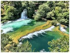 Green and yellow (aiva.) Tags: croatia krka waterfall dalmacia hrvatska dalmatia naturepark