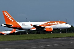 OE-LQS EASYJET AIRBUS A319 NEWCASTLE AIRPORT (toowoomba surfer) Tags: jet aeroplane airliner airline aviation aircraft ncl