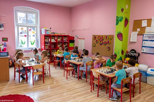 VIII Turniej Szachowy o Mistrzostwo Przedszkola Europejska Akademia Dziecka-9