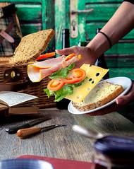 Sandwich Fail!! (Dave Denby) Tags: sandwich picnic fail cheese ham bread
