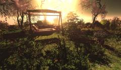 α qυιeт plαce (♣♦ Lilly von Nekro ♦♣) Tags: secondlife sl second sun summer art dark 3d woods nature fantasy music mystic firestorm beauty garden landscape