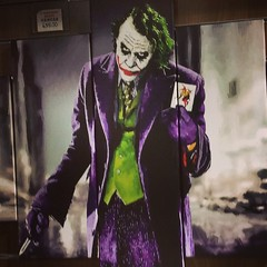 The Joker (Roy Richard Llowarch) Tags: joker thejoker heathledger art artwork artistic artists painted paint painting canvas shop shopping market shops stalls markets camdentown camdenmarket london londonengland artshops artshop royllowarch royrichardllowarch film films batman forsale