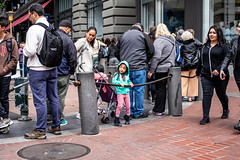 San Francisco 2018 (burnt dirt) Tags: sanfrancisco california vacation town city street road sidewalk crossing streetcar cablecar tree building store restaurant people person girl woman man couple group lovers friends family holdinghands candid documentary streetphotography turnaround portrait fujifilm xt1 color laugh smile young old asian latina white european europe korean chinese thai dress skirt denim shorts boots heels leather tights leggings yogapants shorthair longhair cellphone glasses sunglasses blonde brunette redhead tattoo pretty beautiful selfie fashion japanese mother daughter pink