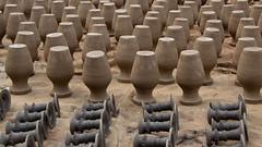 Drying pots (SamKirk9) Tags: nepal kathmandu bhaktapur potterssquare