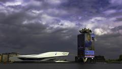 Van gogh (JLM62380) Tags: eye amsterdam vangogh museum sky clouds sea water architecture