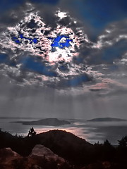 Eye in the Sky (gerard eder) Tags: world travel reise viajes europa europe croatia adria adriaticcoastline costa coastline coast wasser water outdoor nubes clouds wolken landscape landschaft paisajes panorama natur nature naturaleza