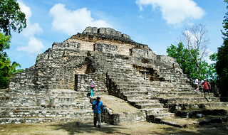 Amazing Mayan ruins in Costa Maya, Mexico