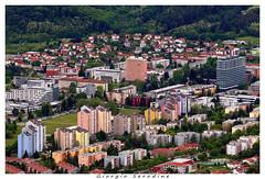 nova gorica 2 (Giorgio Serodine) Tags: ova gorica slovenija confine citta palazzi case porte finestre alberi tetti tele canon quartiere strade