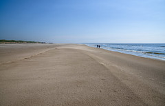Beach in Camperduin during the ebb (Julysha) Tags: beach ebb sand sea may spring camperduin petten 2018 acr d810 people northsea thenetherlands noordholland sigma241054art sunny strand
