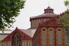 DSC08613 (lin_lap) Tags: barcelona catalonia spain europe catalunya bcn city urban building edificio españa architecture arquitectura market santantoni renovation mercatdesantantoni mercat