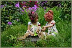 Milina ... der Tag wird schön ... (Kindergartenkinder 2018) Tags: kindergartenkinder annette himstedt dolls sanrike milina gruga grugapark