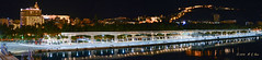 Málaga desde el ferry (GonzalezNovo) Tags: málaganocturna pwmelilla málaga puertodemálaga gibralfaro alcazaba nocturna