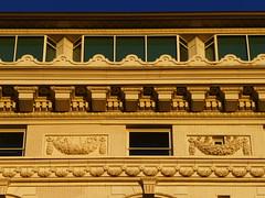 Salt Lake City, UT Joseph Smith Memorial Building (former Hotel Utah) details (army.arch) Tags: saltlakecity utah ut hotelutah josephsmithmemorialbuilding historic historicpreservation nrhp nationalregister nationalregisterofhistoricplaces architecturaldetail terracotta magichour goldenhour