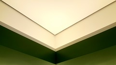 look up! (Cookie ...) Tags: ceiling office green corner