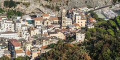 Minori (lucico) Tags: 2017 minori amalficoast italia eu italy village roof road beach church building europa europe clock ph830 unesco worldheritage