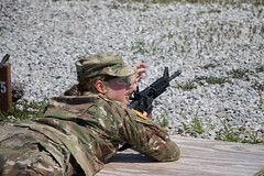 1st Regiment, Advanced Camp, Grouping/Zero (armyrotcpao) Tags: madison thompson 1st retiment regiment advanced camp weapons qualification canby hills range gardner inayah bolton zeroing zero group grouping university north georgia notre dame