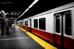 Red & Yellow (marinas8) Tags: nikon d5300 redyellow light train station