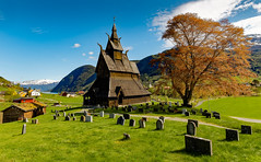 Stave Church, Vik, Norway (cantdoworse) Tags: stave church vik norway landscape mountains canon 6d
