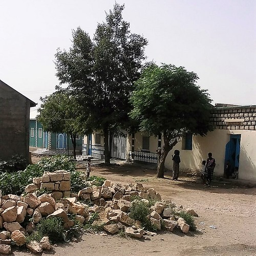 The view from the house in Borama
