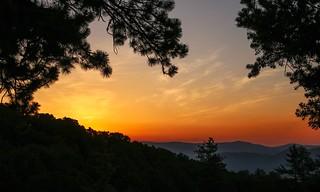 Smoke Enhanced Sunrise