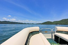 South Holston Lake (Railroad Gal) Tags: bristol virginia tennessee lake southholstonlake appalachianmountains mountains trees water outdoors nature explore pontoon boat waves landscape sky clouds sunshine
