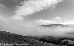 Clearing Clouds. (minar5) Tags: breconlandscapes wales nikon nature brecon bw clouds