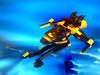 Blacktron Starfighter RG-260 (Crimso Giger) Tags: lego moc space spacefighter starfighter blacktron legoblacktron ship